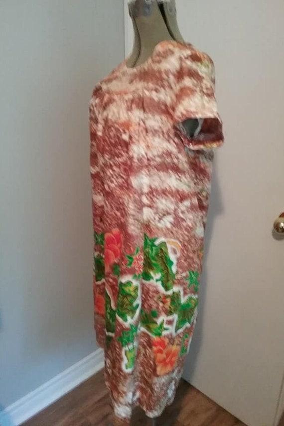 Vintage 1970s Sundress, Vintage Hawaiian Cotton S… - image 2