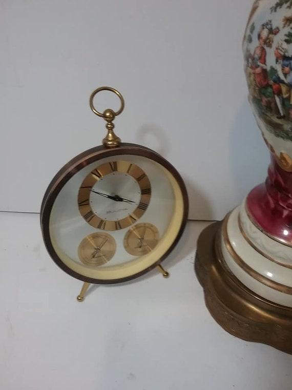 Vintage Bulova Weather Station Alarm Clock
