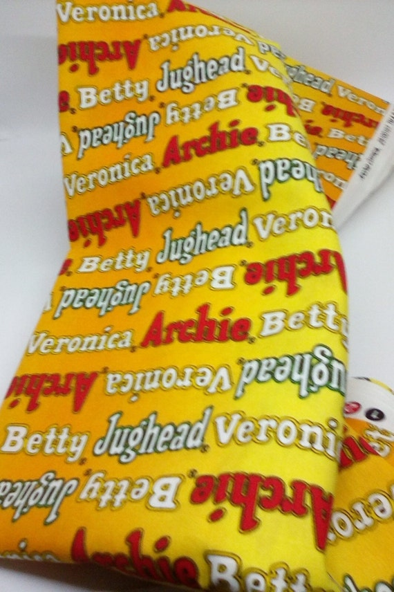 2 Yards Cotton Novelty Fabric, Archie Comics Fabric, Licensed Archie Comics Material