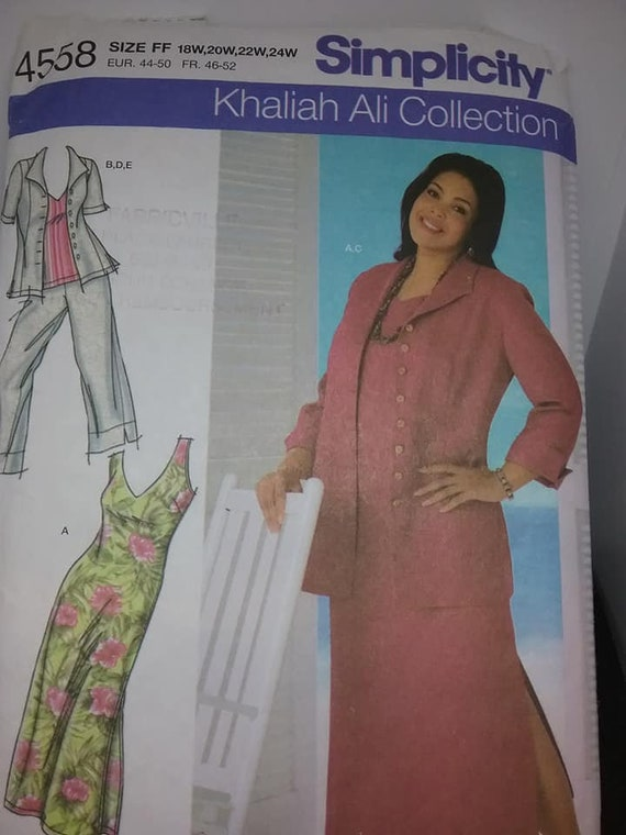 Simplicity Four Piece Plus Size Pattern