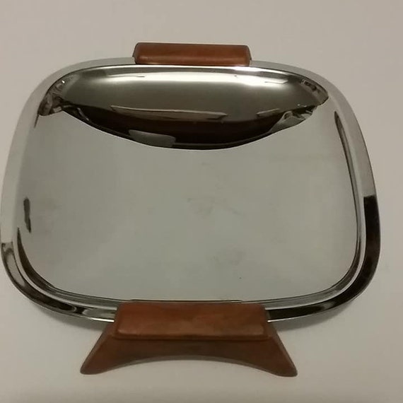 Mid Century Mod Glo-Hill Serving Tray