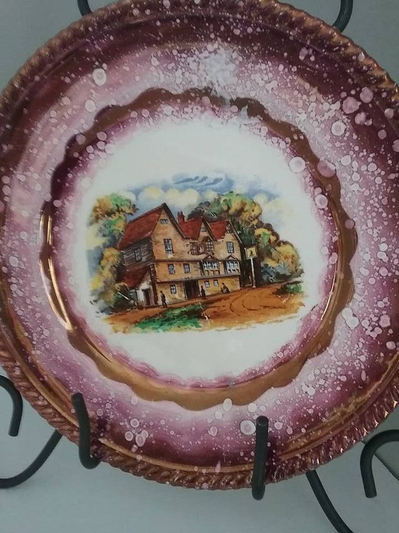 Gray's Pottery Vintage Plate, Stoke-on-Trent