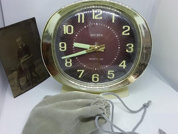 1960's Windup Alarm Clock, Westclox Big Ben