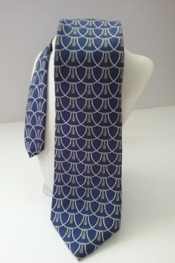 Men's Vintage Lord and Taylor Tie, Imported Silk
