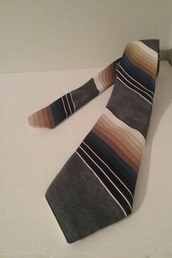 1970s Style Men's Necktie, Pierre Cardin, Made in Canada