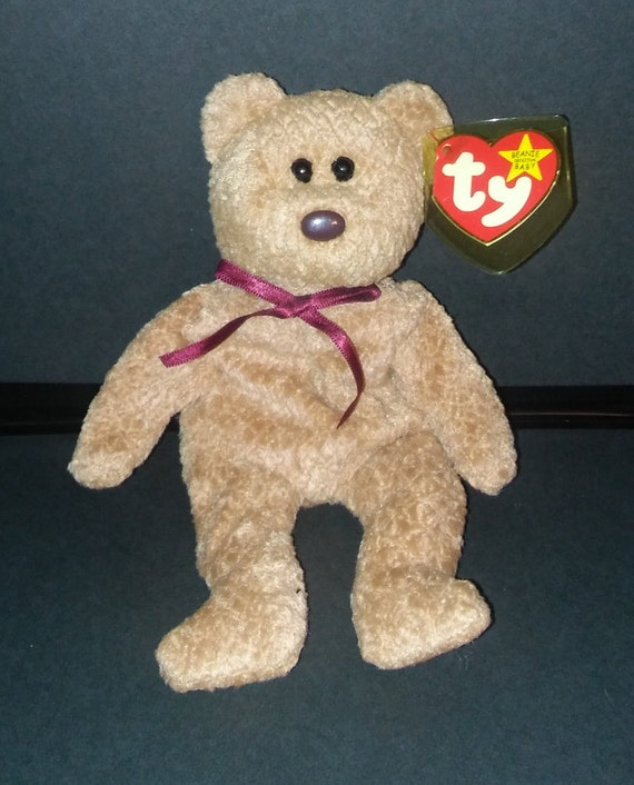2f3d4adf045 Ty Beanie Baby Curly with Errors