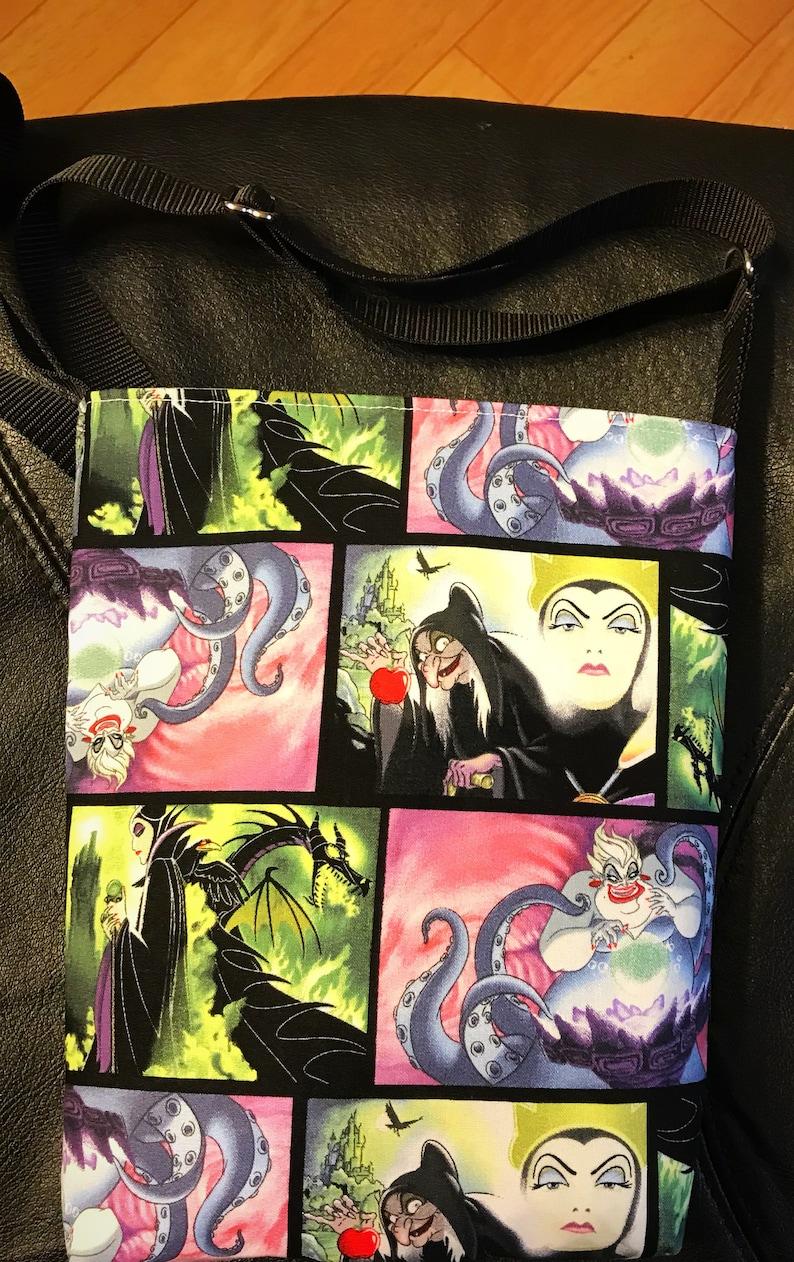 Ursula Disney Villains Inspired Messenger Bag