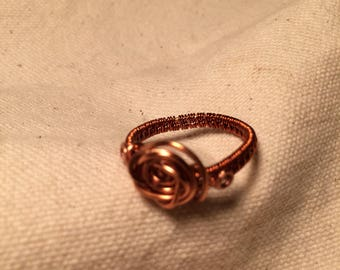 Hand made Copper ring