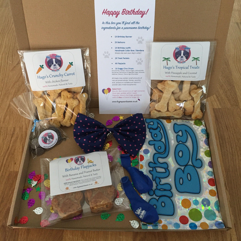 Hugo's Happy Birthday Box BOY Natural Handmade Gluten