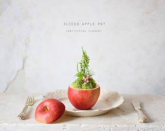 Sliced Apple pot