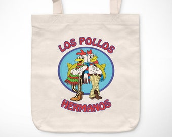 Breaking Bad > Chicken Brothers-Exclusive Vintage bag/Exclusive Vintage tote bag-Heisenberg Walter White Pinkman TV Series Television