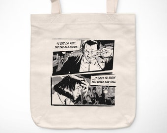 2f25bb86538 Pulp Fiction   You never can tell - Exclusive Vintage tote bag    jack  rabbit slims