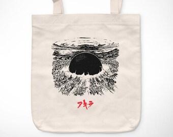Akira > Neo-Tokyo - Bolsa vintage exclusiva / Exclusive Vintage tote bag - Otomo Kaneda Película Manga Tetsuo 80s Movies Anime Film Tetsuo