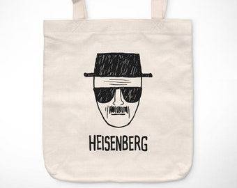 Breaking Bad > Heisenberg-exclusive Vintage bag/Exclusive Vintage tote bag-Heisenberg Walter White Pinkman TV Series Television