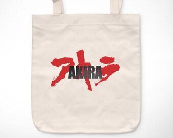 Akira > Akira logo - Bolsa vintage exclusiva / Exclusive Vintage tote bag - Otomo Kaneda Película Manga Tetsuo 80s Movies Neo-Tokyo Anime