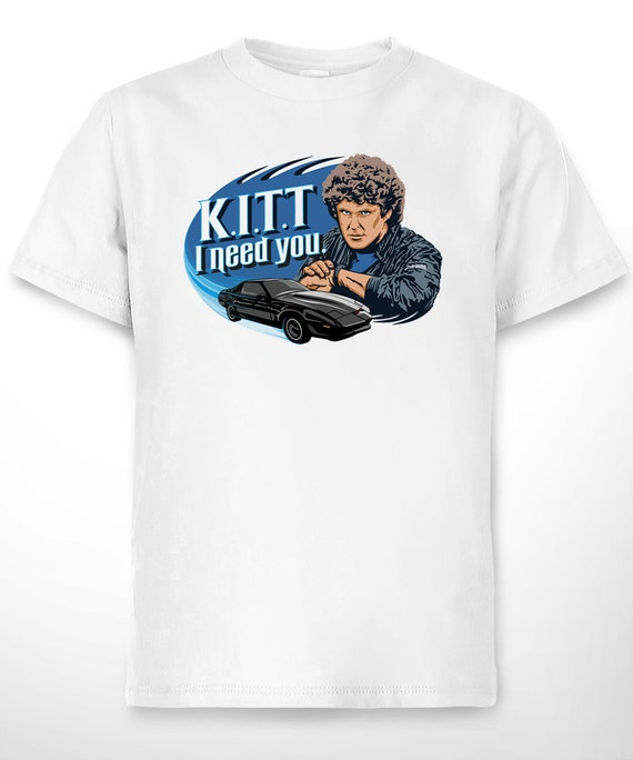 KITT I Need You T-shirt for Men - S to 2XL