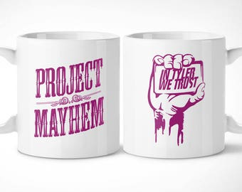 Fight Club > Project Mayhem-Exclusive Mug Cup/exclusive mug-Fight Club Tyler Durden Marla singer film movie cinema movie