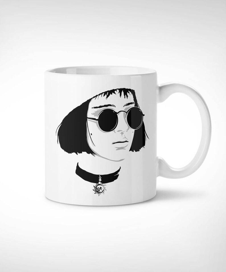 b15aa9fafcaf Léon Mathilda Exclusive Mug    handmade cup mathilda