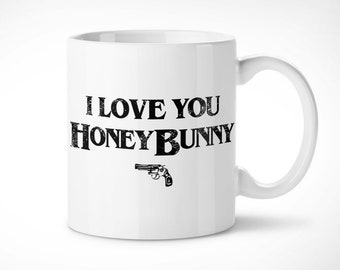 Pulp Fiction > Honey Bunny-mug mug exclusive/Exclusive mug-Quentin Tarantino Pumpkin Honey Bunny Wallace film movie Cinema film