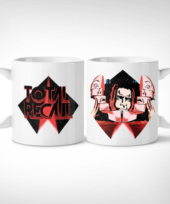 Total Recall Exclusive Mug Handmade Films Sci Fi Etsy