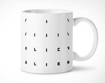 Alien > The Start-Cup exclusive mug/exclusive mug-Giger Nostromo Weyland Yutani Xenomorph xenomorph Cinema movie Cinema movie