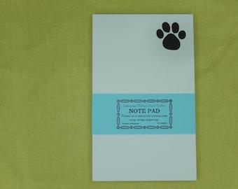 Paw Print Note Pad Set / Letterpress Printed