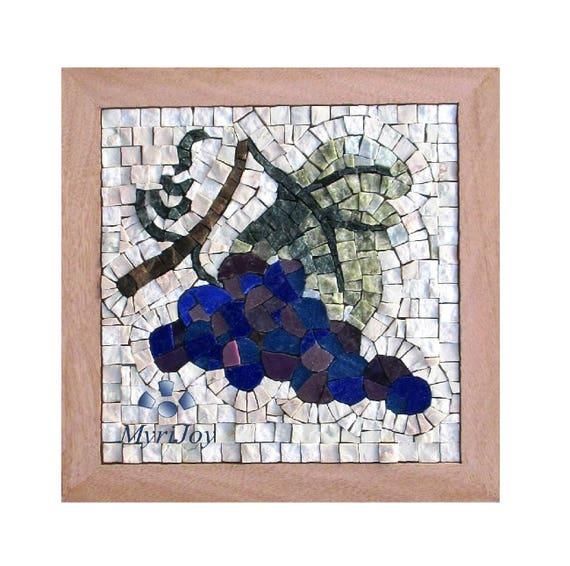 Mosaic wall art kit fall 9x9 diy mosaics tiles craft adults do mosaic wall art kit fall 9x9 diy mosaics tiles craft adults do it yourself art project gift ideas for women feng shui abundance art from myrijoy on solutioingenieria Image collections