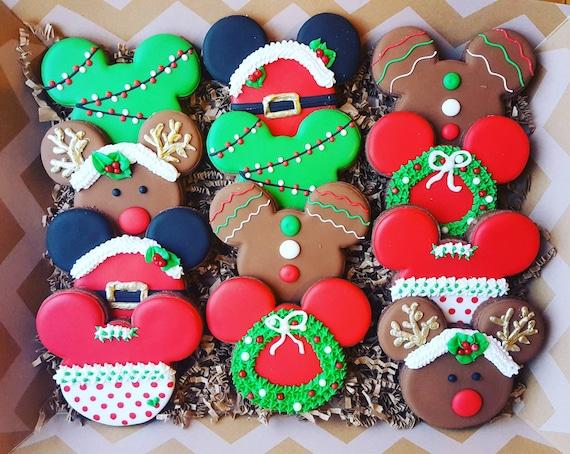 image 0 - Mickey Mouse Christmas Cookies