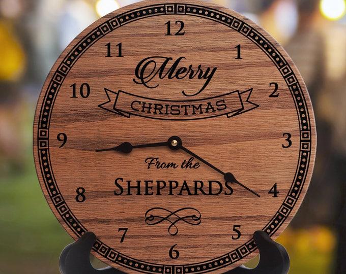 Merry Christmas Gift - Merry Christmas Clock