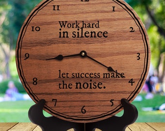 Work Hard In Silence Etsy