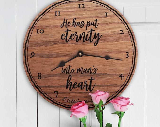 He Has Put Eternity Into Man's Heart - Ecclesiastes 3:11 - Custom Verse - Custom Scripture - Bible