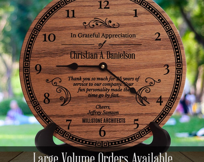 Personalized Team Appreciation Day Gift  - Team Recognition - Award Plaque - Thank You Team - Banquet - Gala - Luncheon - Time Go By Fast