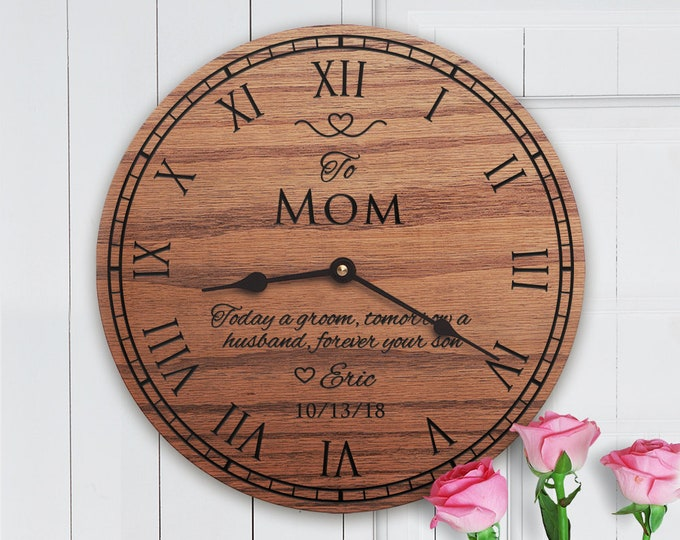 Wedding Gift From Son to Mom - Gifts for Mom on Wedding Day - Wedding Gift For Mom - Custom Message - Wedding Gift From Son to Mom