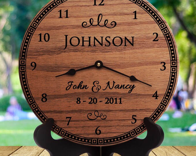 5 Year Anniversary Gifts - 5 Year Anniversary Gift Ideas - 5 Year Anniversary Gifts Special - Custom Engraved - Fancy Bouquet