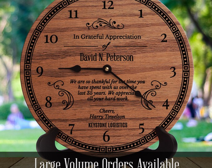 Personalized Employee Appreciation Day Gift  - Employee Recognition - Award Plaque - Thank You Employee - Time You Have Spent With Us
