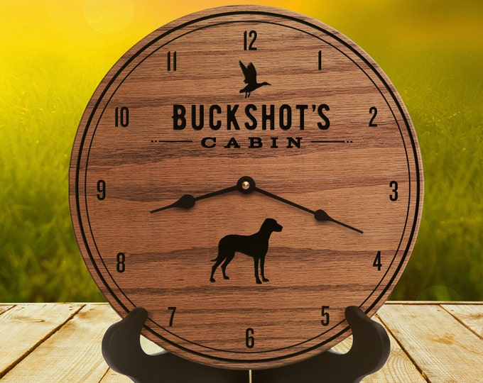 Dog Lover Gifts for Him - Gifts for Dog Owners - Best Pet Gift - Hunting Dog - Duck Hunting - Goose Hunting - Retriever - Buckshots Cabin