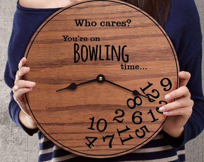 Funny Bowling Gifts - Gifts for Bowlers Funny - Gifts for League Bowlers - Gifts for Tournament Bowler - Professional Bowlers - Bowling Time