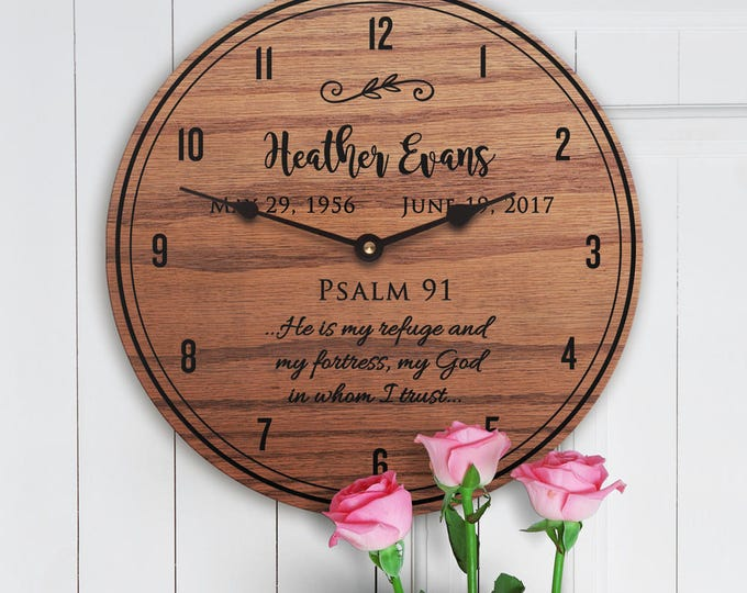 Memorial Gift Ideas - Bible Verse Memorial Gift Mom - Scripture Memorial Gifts for Loss of Mother - Mom Memorial - Bible Verse Memorial