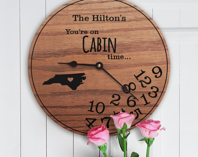 Cabin Decor - North Carolina - New Home - State Map - Living in North Carolina - Home NC - Home Sweet Home - Street Address