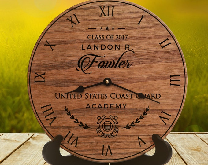 Coast Guard Academy Gifts for Graduates - Graduation Gifts for Coast Guard - Graduating from Coast Guard Academy - Coast Guard Script