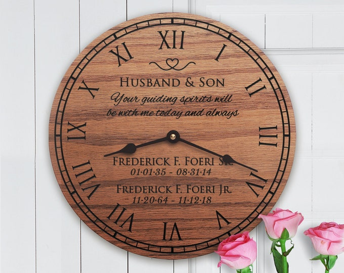 Memorial Gift For Two - Both Parents - Sympathy - Loss of Mom and Dad - Memorial Gift Ideas for Mom and Dad - Memorial Gift For Two