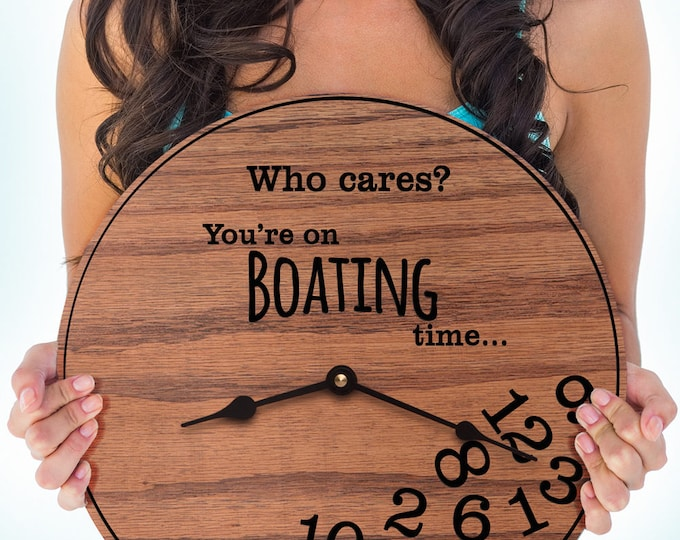 Funny Boating Gifts - Gifts for Boat Lover - Gifts for Avid Boater - Who Love to Boat - Boat Hobby - Pontoon - Boating Time