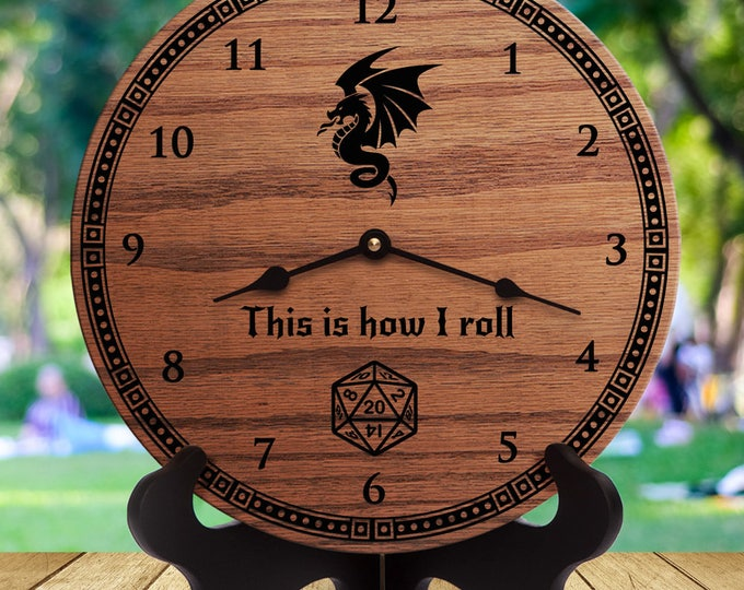 This Is How I Roll - Funny Dungeons and Dragons Gifts - Wyvern - D&D - DnD - d20
