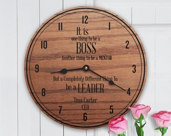 Personalized Boss Gift   Custom Gift For Boss   CEO Gift   Director Gift    Gift From Office Staff   Leadership   Be A Leader Modern