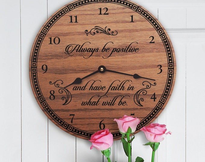 Always Be Positive - Motivational Decor - Inspirational Decor - Encouraging Decor - Quotes on Change - New Season - Always Be Positive