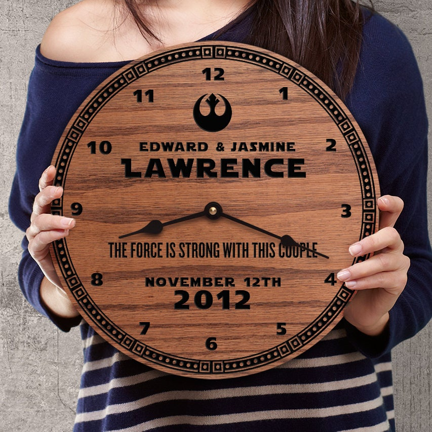 Wedding Gifts For Nerds: Personalized Wedding Gift For Star Wars Nerds Gift With