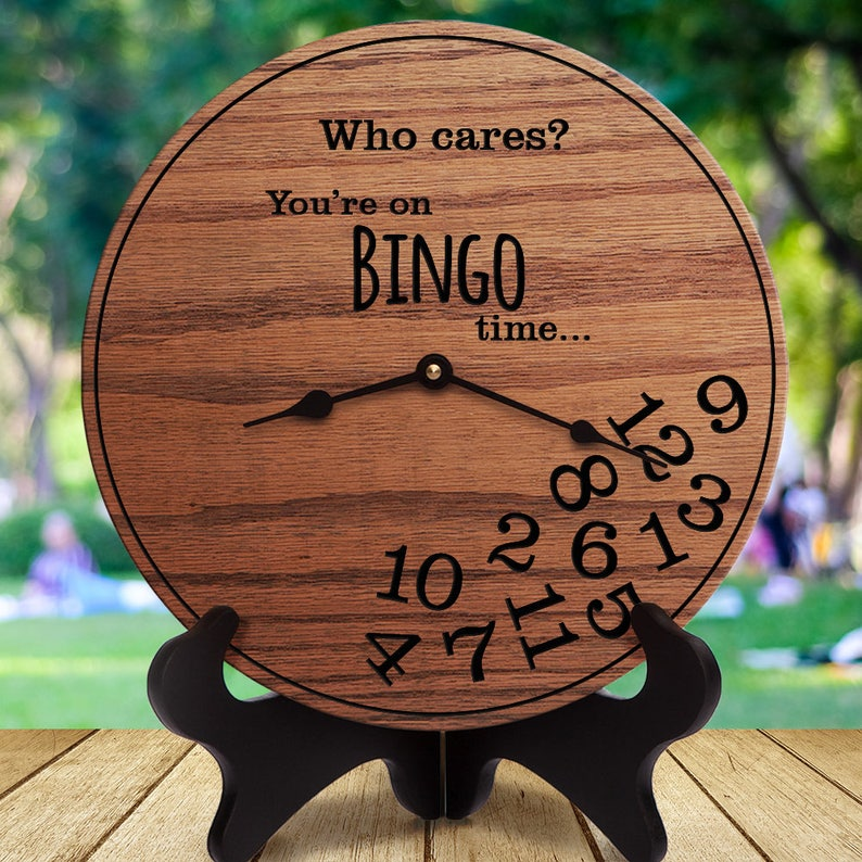 Who Cares You/'re On Bingo Time Funny Bingo Gifts Gifts for Bingo Players