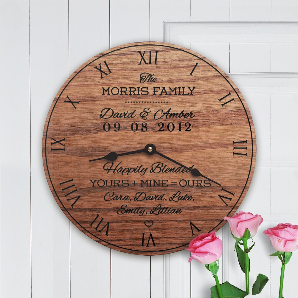 Personalized Wedding Gift For Blended Family Wedding Gift For