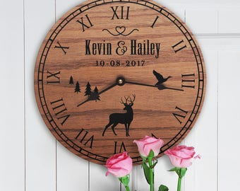 Personalized Wedding Gift For Hunters - Custom Names - Wedding Gift Hunters - Wedding Gift for Hunting Couple - Wedding Gift For Hunters