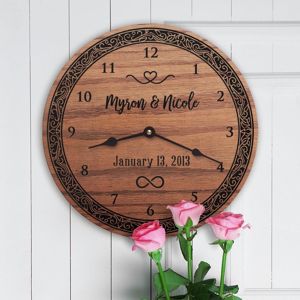Wedding Gift With Forever Symbol Forever Sign Forever Emblem